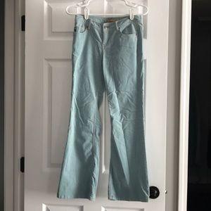 Light blue Aeropostale pants. Flare at bottom.